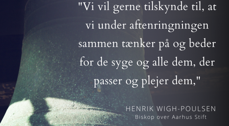 klokke med citat fra Henrik Wigh-Poulsen