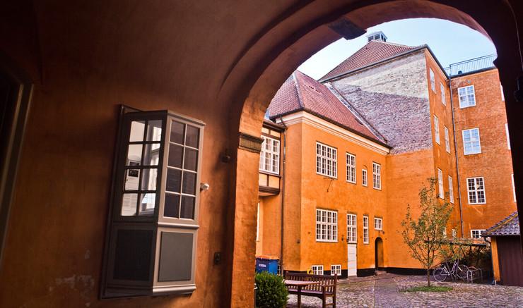 Bispegårdens indre gårdrum