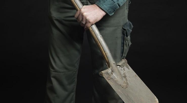 modelfoto af graver