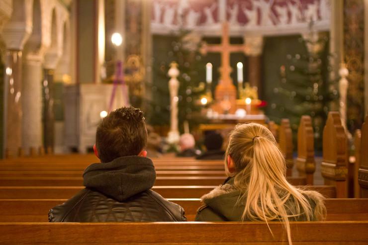 par i kirke i julen