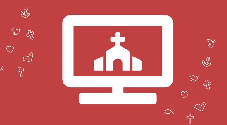 logo om kirken på nettet