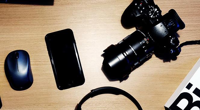 foto af et kamera