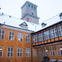 Bispegården ved vintertid