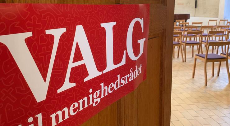 stemningsbillede fra menighedsrådsvalget i hyltebjerg kirke